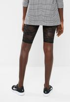 Missguided - Lace shorts - black