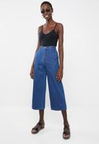 Superbalist - Wide leg jeans with side entry pocket - blue