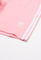 adidas Originals - I short tee set - pink & white
