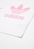 adidas Originals - Trefoil tee - white & pink