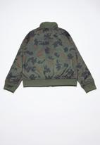 Converse - Printed tricot track jacket - multi