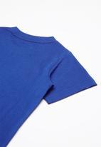 Converse - Stare chevron box tee - blue