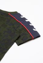Converse - Short sleeve camo track tee - multi