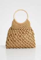 Superbalist - Mandy crochet bag - beige