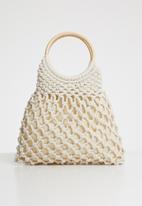 Superbalist - Mandy crochet bag - white