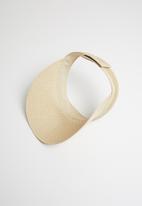 Urban Beach Hats - Franschoek visor - natural