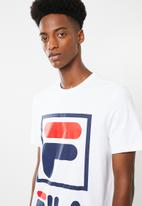 FILA - Stacker tee - white