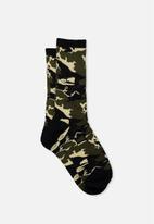 Typo - Single pack active socks - multi