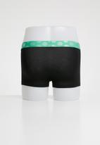 Happy Socks - Solid trunk 3 pack - black