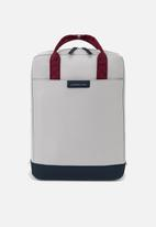 Kapten & Son - Malmö backpack - grey & blue