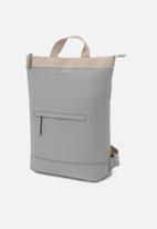 Kapten & Son - Umea backpack - grey & beige