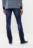 SOVIET - Slim leg denim jeans - blue