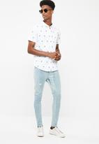 Brave Soul - Sampson skinny jeans - pale blue