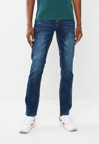 SOVIET - Heath slim fit jeans - navy