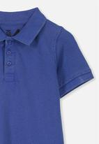 Cotton On - Kenny3 polo - blue
