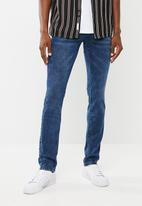 SOVIET - Heath slim fit jeans - blue