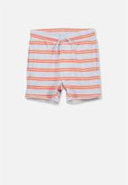 Cotton On - Henry slouch short - blue & orange