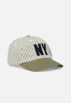 Cotton On - Baby cap - white & khaki