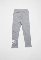 name it - Pony long sweat pants - grey
