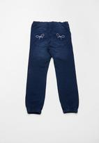 name it - Barbel denim jogger pants - blue