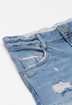 name it - Rose tala denim shorts - blue