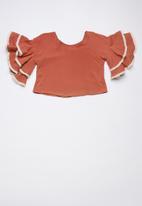 Rebel Republic - Boxy blouse - rust