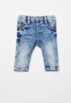 name it - Sofus denim pants - blue