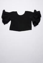 Rebel Republic - Boxy blouse - black