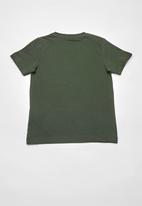 name it - Casp short sleeve top - green