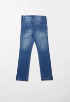 name it - Pete regular denim pants - blue