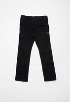 name it - Silas denim long pants - black