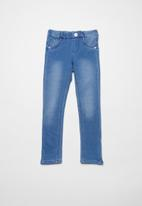 name it - Polly denim skinny pants - blue