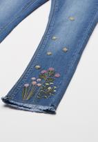 name it - Polly malia denim pants - blue