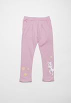 name it - Pony long sweat pants - pink