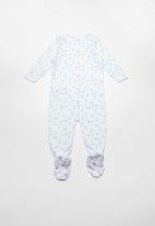 name it - Night sleepsuit 2 pack - blue & white