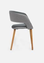 Sixth Floor - Grace dining chair - dark grey