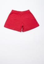 Superbalist - Summer sweat shorts - red