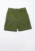 Superbalist - Linen tailored shorts - khaki