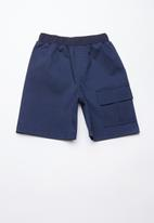 Superbalist - Utility loose shorts - navy