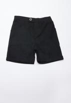 Superbalist - Linen tailored shorts - black