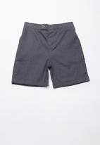 Superbalist - Linen tailored shorts - charcoal