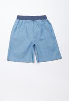 Superbalist - Utility loose shorts - blue