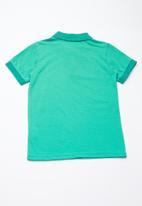 Superbalist - Pique polo shirt - green