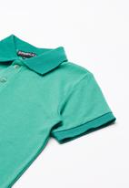 Superbalist - Pique polo shirt - green