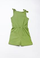 Superbalist - Sleeveless tunnel playsuit - green