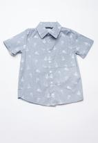 Superbalist - Printed summer shirt - grey