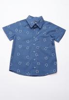 Superbalist - Printed summer shirt - blue