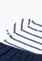 Superbalist - Smock knit dress with leggings - navy & white
