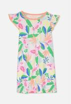 Cotton On - Katie flutter sleeve nightie - pink