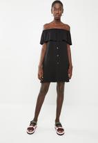 Superbalist - Bardot dress - black
